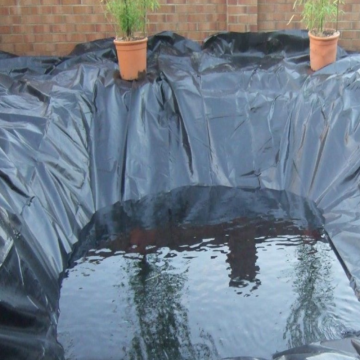Geomembrana de estanque de piscifactoría de HDPEsheet para agricultura