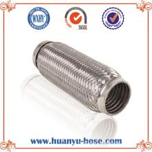 Tuyau d'échappement flexible en acier inoxydable avec interverrouillage