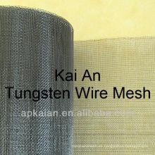 Cinturón de malla de alambre de alta temperatura de tungsteno
