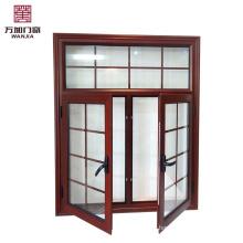 High grade aluminium casement window shutter wj-Alu c-08