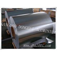 Folhas de alumínio para embalagem e construção