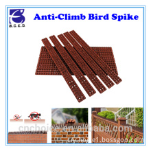 Anti birds control plastic fence wall spikes bird spike repeller