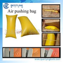 Bolsas que empujan del aire de la venta caliente para separar el mármol y el granito