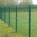 Cheap PVC panel fence single wire fence