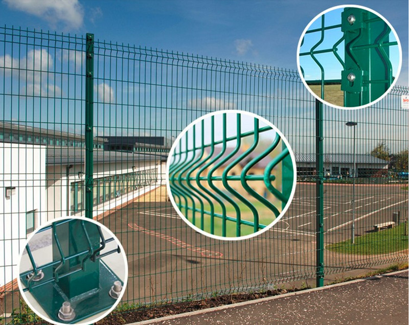 Perimeter Fecing And Gates of Airport