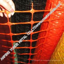 Cerca de barrera de advertencia de seguridad HDPE