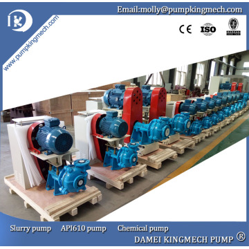 4 / 3D Centrifugal Mining End Suction Slurry Pump