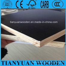A madeira compensada marinha do núcleo completo do eucalipto de 12mm, filme enfrentou a madeira compensada