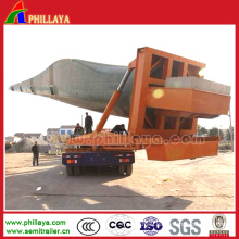 360degree Rotary Windblade Transport Euipment Tower Trailer