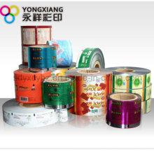 Größe Customized Kunststoff Verpackung Film Roll