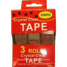 JML 3PK Custom bedruckte Bopp Packing Tape Logo bedruckte Bänder