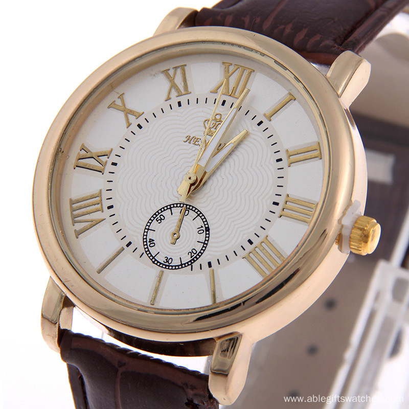 2016 New Trend Women Business Leather Watch