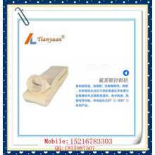 Heat Resistant Nonwoven Fms Needle Felt Dust Filter Bag