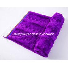 Tecido de lã de pelúcia em relevo PV