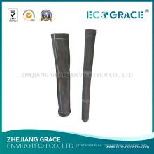 Bolsa de filtro de la industria de fibra de vidrio de fibra de vidrio