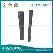 Gas Treatment Fiberglass Filter Bag Pocket