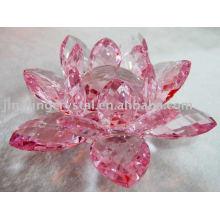 Kristall Lotus Kerzenständer (JDH-048)