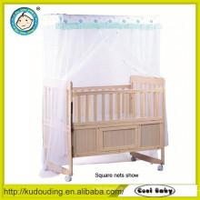 Ce aprovado europeu e Austrália tipo bebê popular cama de beliche de madeira dupla