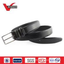 Cinturão de cinto de couro genuíno OEM durável