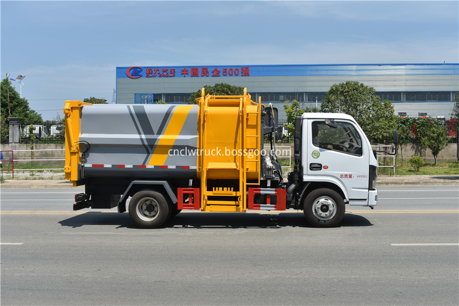 kitchen waste truck dealers