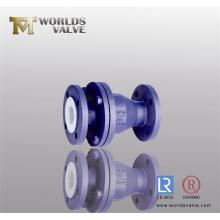 PFA Coated Check Valve