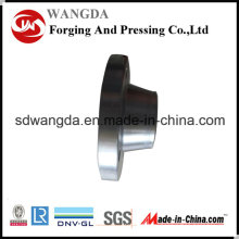 Zhangqiu кованая сталь углерода сварки шеи 300 фунтов фланец