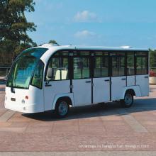 Горячий продавать 14 мест Электрический городской автобус с дверями для продажи (дн-от 14f)