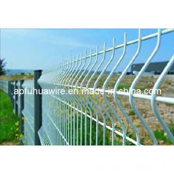 Fuhua Wire Mesh Fence Galvanized and PVC Coated