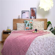 Короткое одеяло с коротким плюшевым покрытием с крашенным рисунком оптом