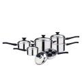 10 pcs cookware set with egg poacher