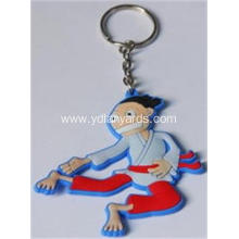 Small Decoration Soft PVC Keychain Custom