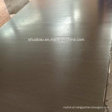 Madeira compensada impermeável da colagem fenólica usada para o concreto