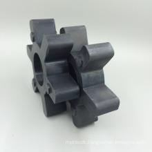corner coupler sealing cushion elastomer hexagon elastic ring