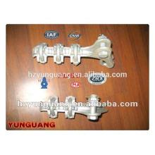 línea de transmisión de la abrazadera del cable de la abrazadera de la tensión que cabe la línea de transmisión eléctrica