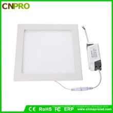 Luz de painel do diodo emissor de luz da forma do quadrado do preço barato