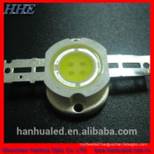 NEW !!!Hot!! 5W cob chips high power led warm white with USA bridgelux chip 45mil