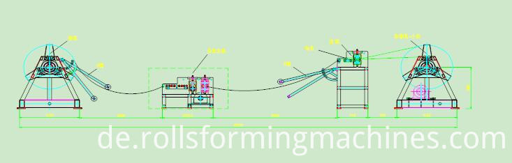 slitting machine line