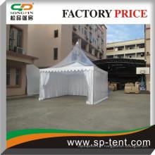 Tente de pagode transparente de 5mx5m pour un banquet en plein air