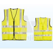 Jy-7007 une variété de couleurs Veste de sécurité routière réfléchissante