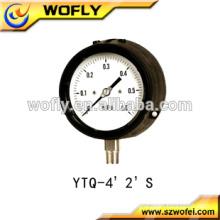 63mm dial 1/4NPT differential low pressure gauge