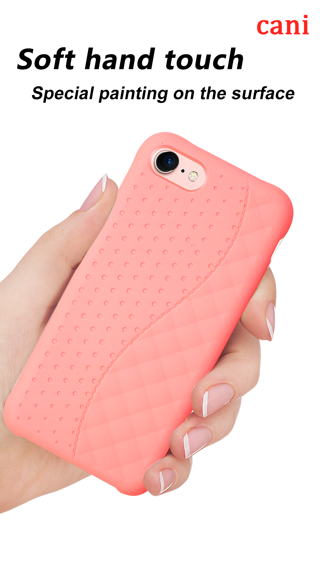Soft Back Silicone Feeling Case For Iphone6