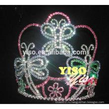 Костюмы невесты цветные бабочки настенные кристаллы тиары для продажи