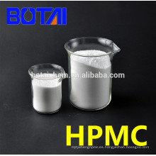 Grado de construcción HPMC / MHPC mezclado con polvo de masilla en una capa delgada