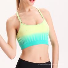 Compétence personnalisée Yoga Gym sport soutien-gorge