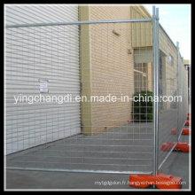 Clôture temporaire galvanisée / enduite de poudre de haute qualité d'Australie ou du Canada