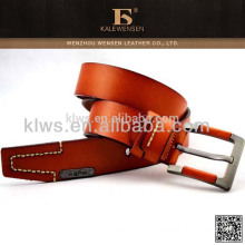 Eco-friendly fashion high quality genuine designer belts for men
