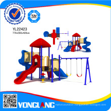 Easy Assembling Castle Playground for Little Kids, Yl22423