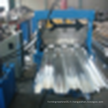 Machine de formage de rouleaux de plancher en tôle d'acier galvanisé avec système de contrôle électrique