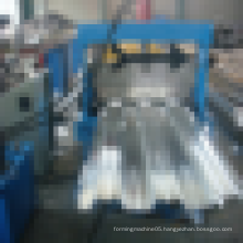 Galvanised Steel Sheet Floor Deck Roll Forming Machine With Electrical Control System