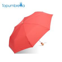 Anti UV personalizada única tres veces Umberlla Rain Umbrella para dos personas
